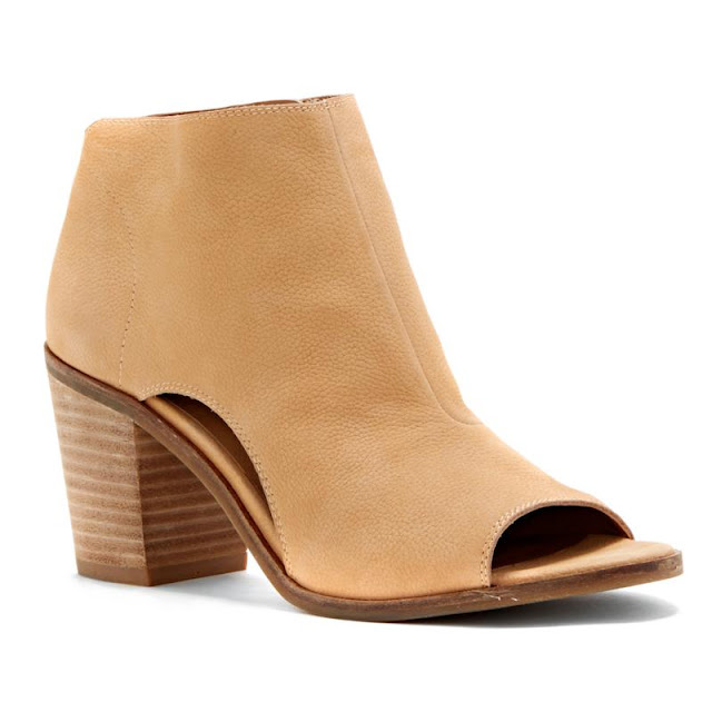 HSN: Lucky Brand Kasima Leather Block-Heel Shooties only $50 (reg $129) + free shipping!