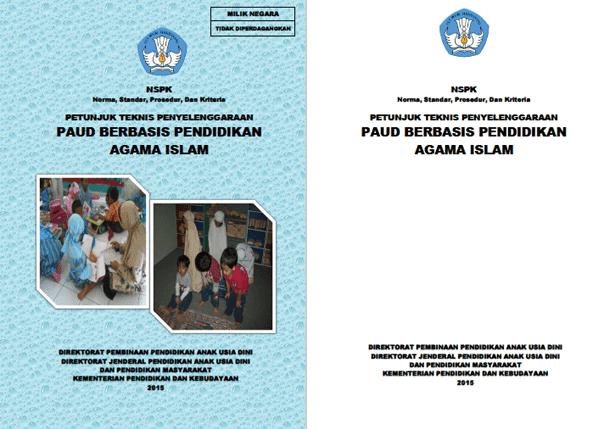 Juknis Penyelenggaraan PAUD Berbasis Agama Islam