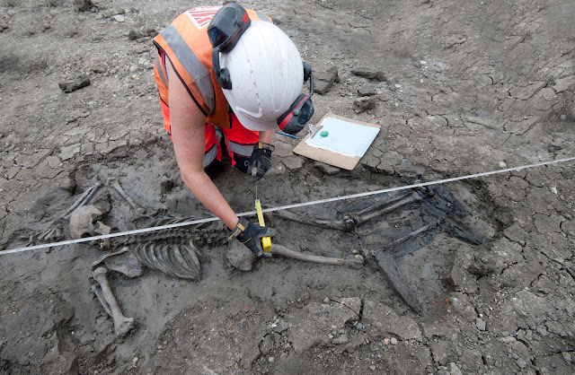 The medieval mystery of the booted man in the mud
