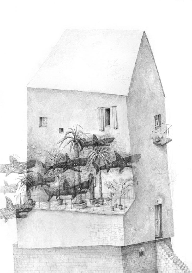 Stefan-Zsaitsits-10 Houses: Drawings by Stefan Zsaitsits Design
