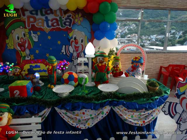 Decoração Patati Patatá - Aniversário