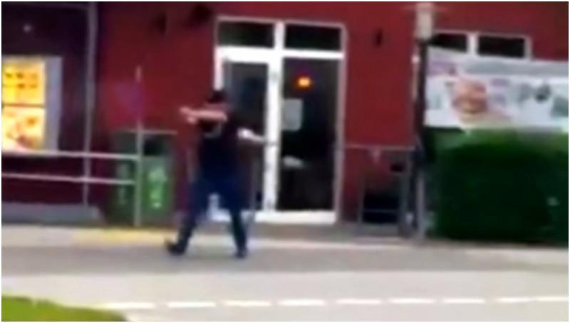 Aksi penembakan brutal di depan McDonald's, Munich, Jerman