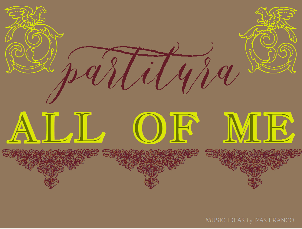 all of me piano partitura pdf
