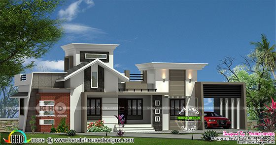 1275 square feet 3 bedroom modern one floor home