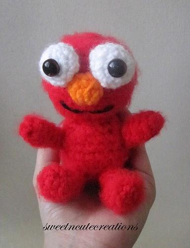 2000 Free Amigurumi Patterns Free Sesamestreet Elmo