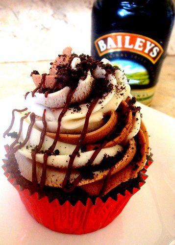 Mudslide Cupcake   Flickr - Photo Sharing!