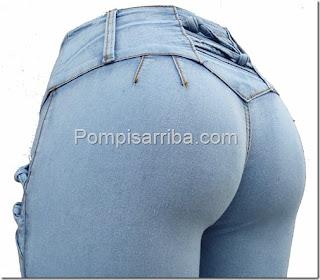 En donde venden pantalones pompis arriba, corte colombiano barato