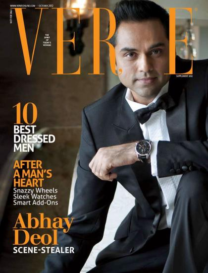 Photo: Abhay Deol Featured On The Cover Of Verve Man Magazine