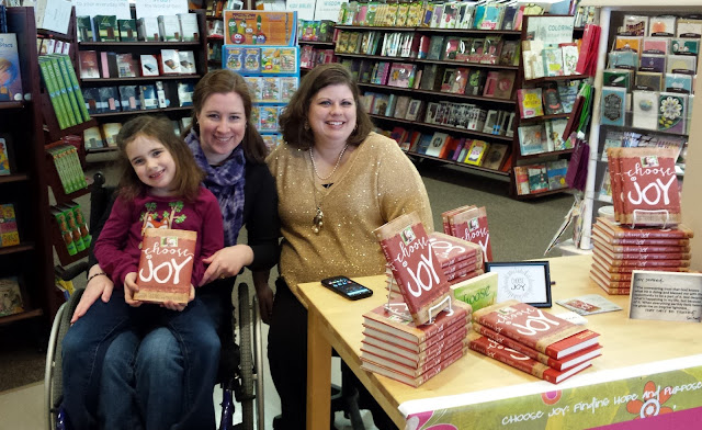 Meeting Mary Carver at the Choose Joy book signing