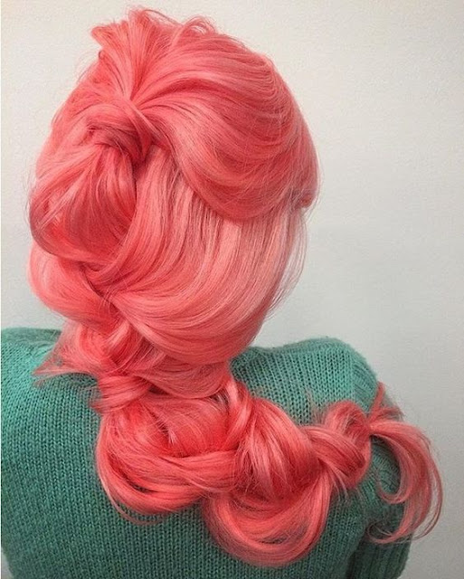 Awesome Coral Hair Colors The HairCut Web