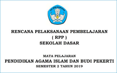 download rpp pai sd kurikulum 2013 semester 2 tahun 2019/2020