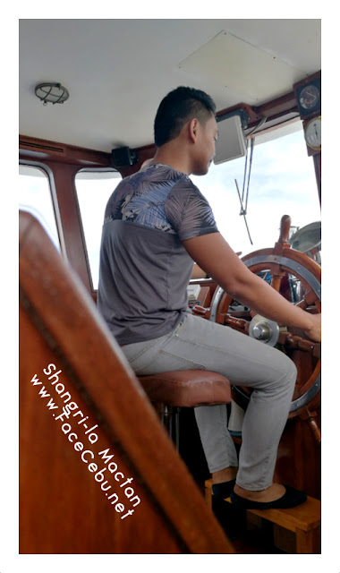 FaceCebu Blogger, Mark Monta at The Celandine Yacht