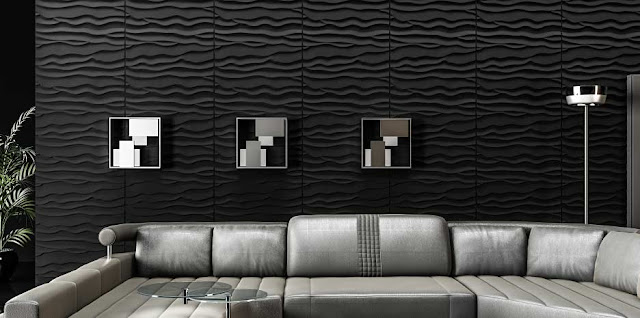 3D decorative wall art panels and 3D wall decor ideas