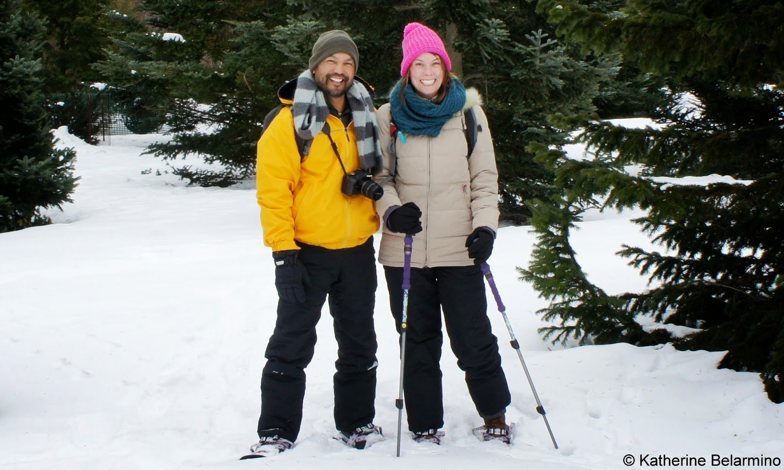Snowshoeing the University of Wisconsin Arboretum