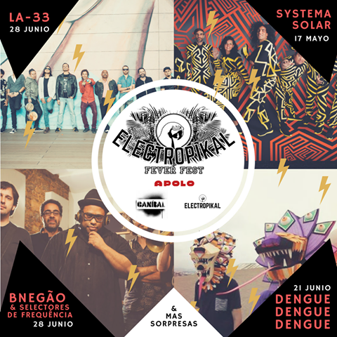 Electropikal Fever Fest 2017, Sala Apolo, Barcelona