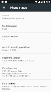 Update Lenovoe A7000 To Android 7.0 Nougat