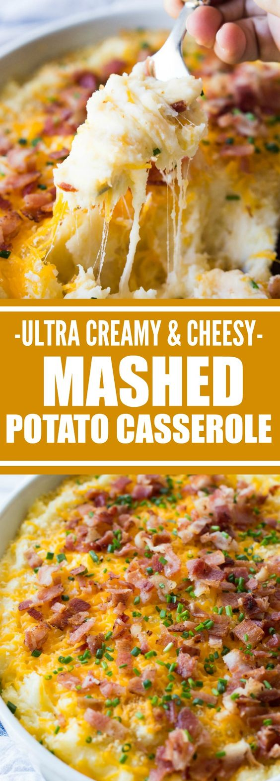 ★★★★☆ 7561 ratings   Mashed Potato Casserole  #HEALTHYFOOD #EASYRECIPES #DINNER #LAUCH #DELICIOUS #EASY #HOLIDAYS #RECIPE #Mashed #Potato #Casserole