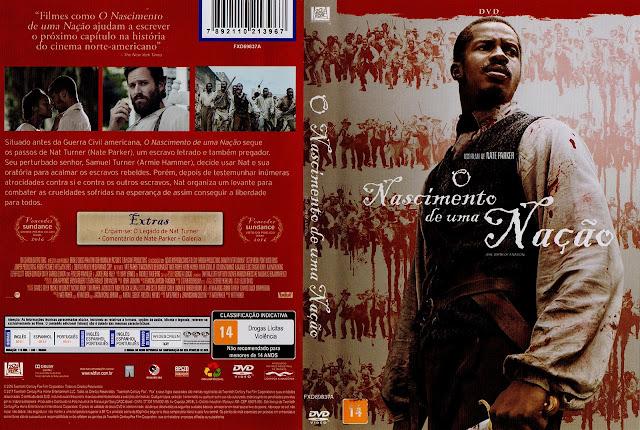 Capa DVD O Nascimento De Uma Nação