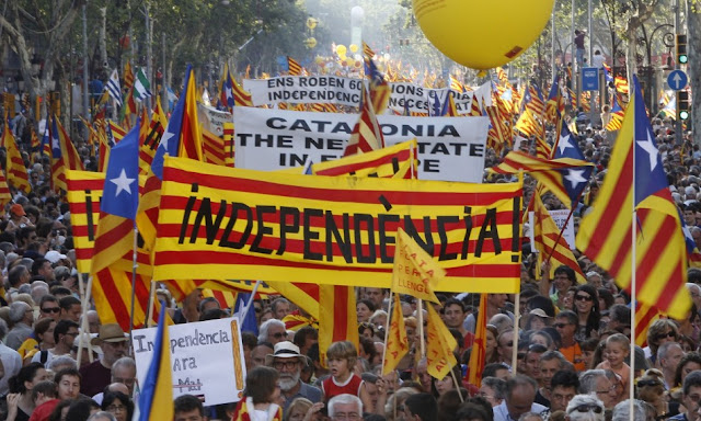 Catalonia referendum: Call for pro-unity rallies in Spain