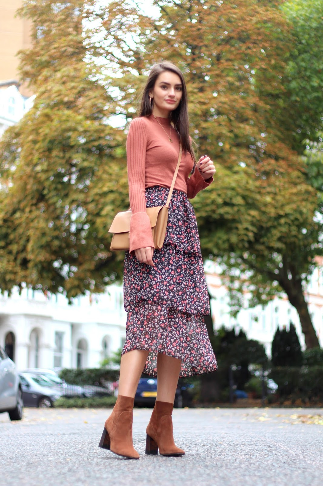 midi maxi length style blogger peexo autumn fashion