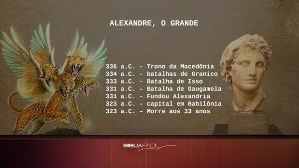 Alexandre o grande profecia daniel