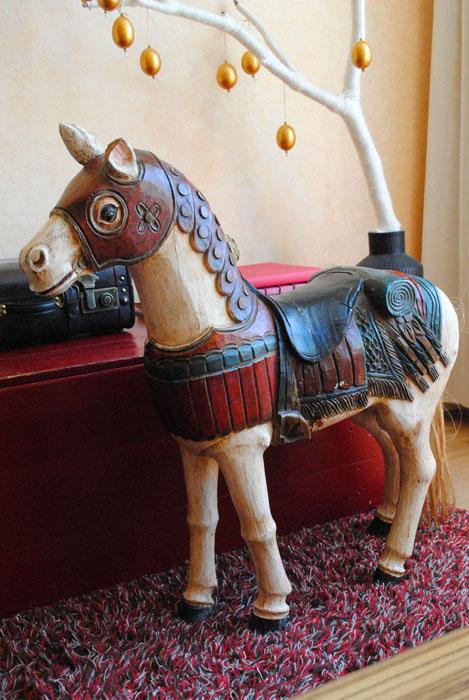houten paard antiek
