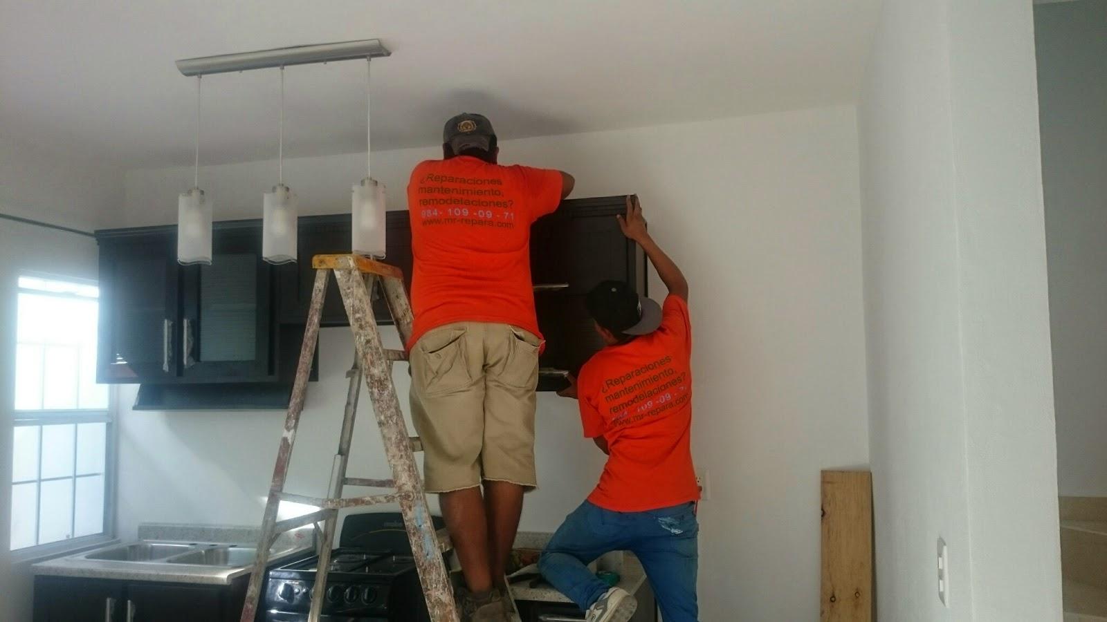 Mr Repara: Colocación de cocinas y muebles de madera.