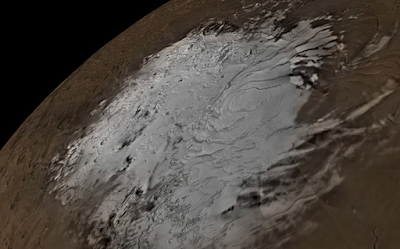Fluid water 'lake' uncovered on Mars