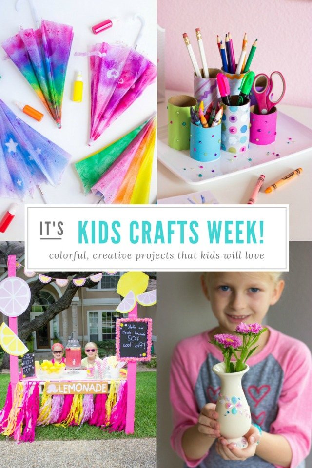 Check out all these fun DIY kids crafts and activities - perfect to keep them busy over the summer!
