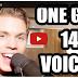 Lelaki Dengan 14 Suara - Siap Boleh Tiru Suara Adam Levine