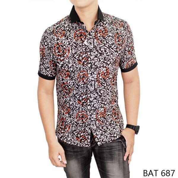 30 Model Baju Batik Pria Kombinasi Terbaru 2018 Eksklusif
