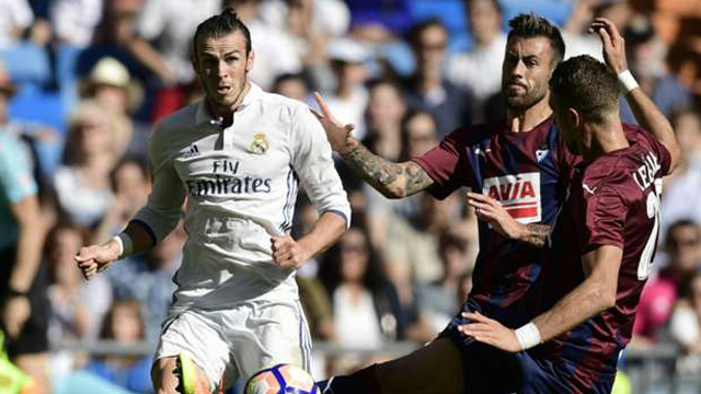 [Video] Cuplikan Gol Real Madrid 1-1 Eibar (Liga Spanyol)