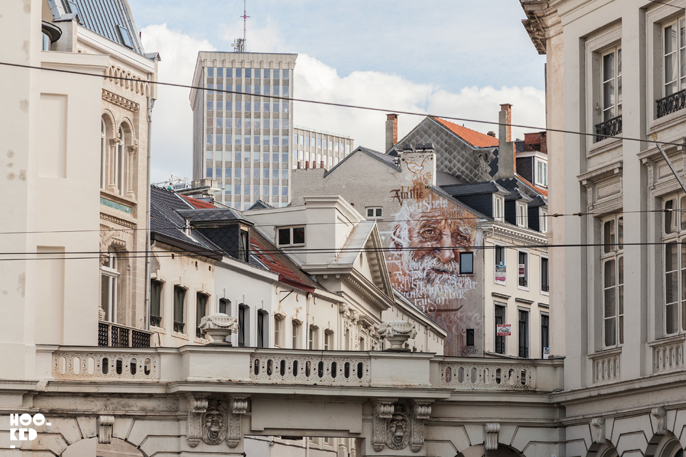 Discover some of the best Brussels Street Art