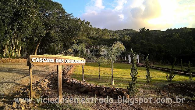 Cascata das Orquídeas, Imigrante, Vale do Taquari, RS