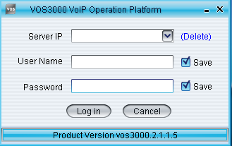 Voip Supports: How to Install VOS3000 2 1 1 5