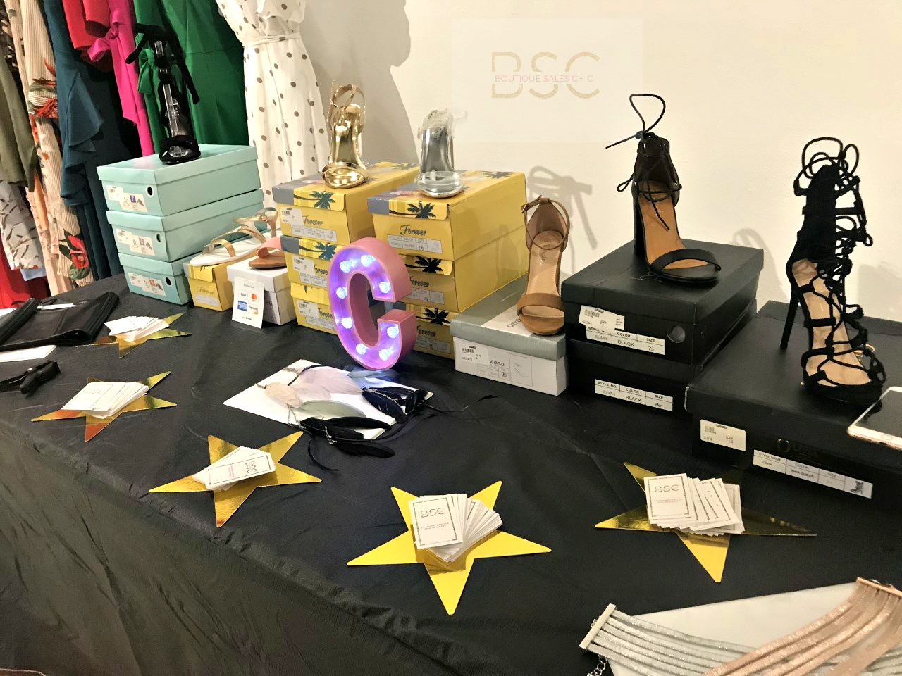 Boutique Sales Chic/ Small Business/ Woman Owned Business