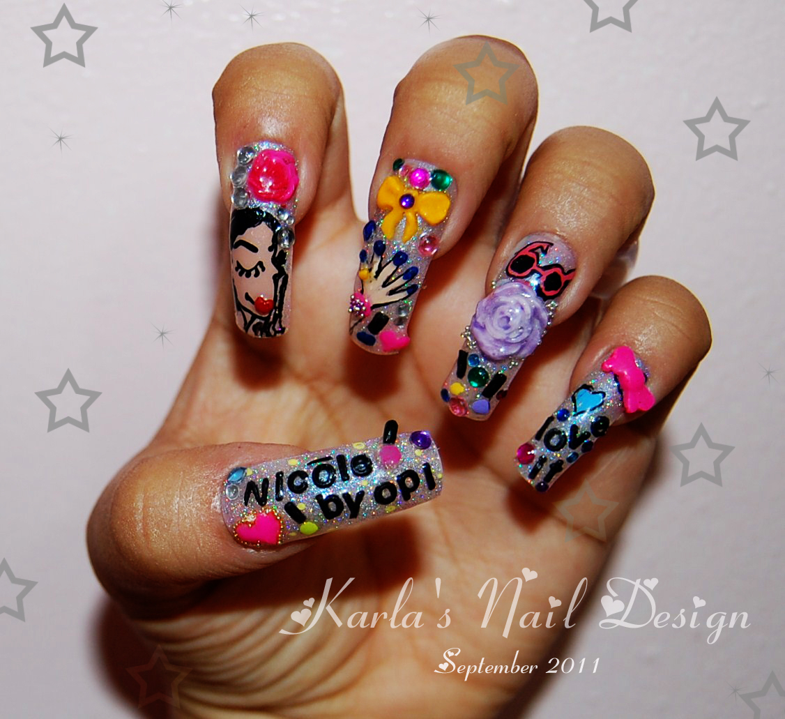 Originail Kolors: Nicole by OPI Nail Design inspiration