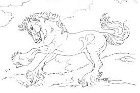 Images Of Beautiful Horses Coloring Pages Ideas