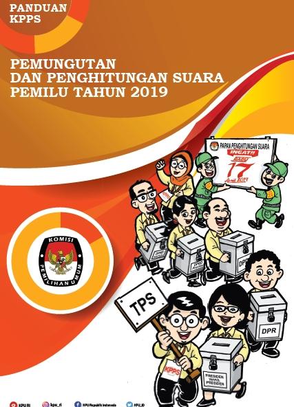 Download Buku Panduan KPPS pada Pemilu dan Pilpres 2019
