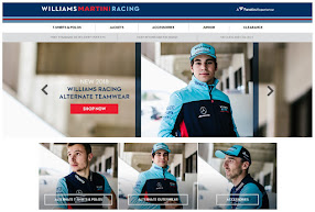 WILLIAMS MARTINI RACING shop