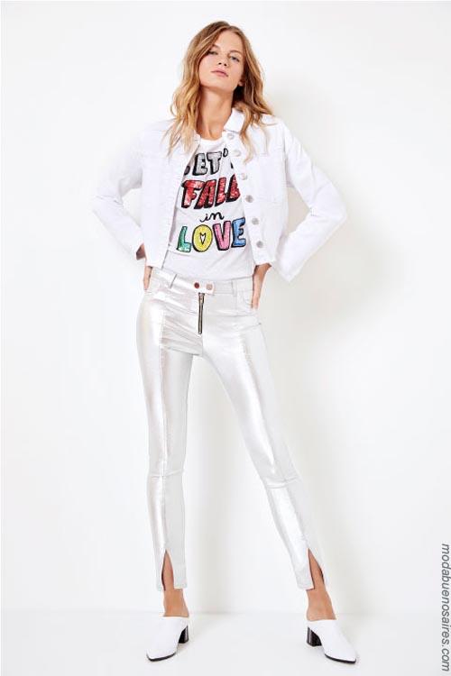 Ropa de moda pantalones primavera verano 2019 Kosiuko.