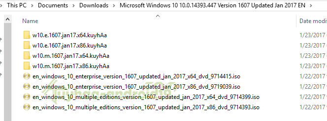 Windows 10 MSDN