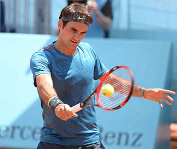 Roger Federer  hairstyle