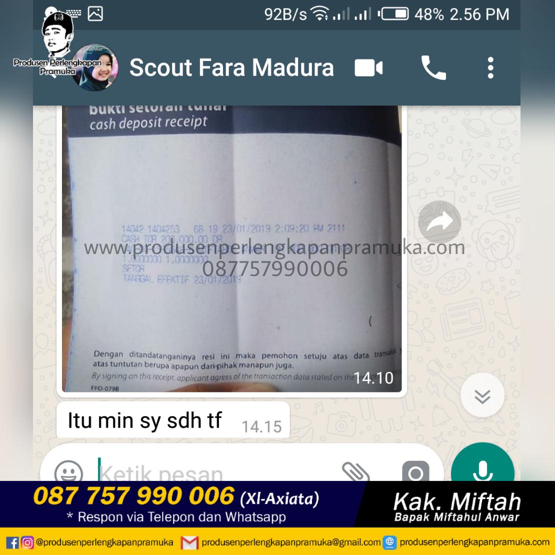 Customer Kk Fara Madura