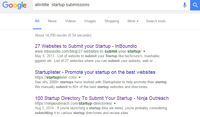 """ tips and tricks on how to get 100 sites for start up Promotion"