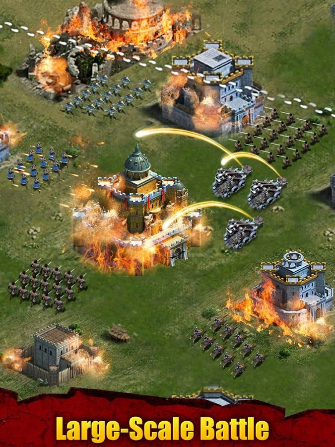 Permainan Android Terbaru Clash Of Kings mirip Clash of Clans
