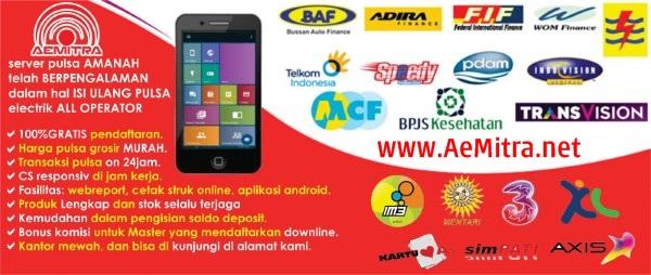 AeMitra.net Cara Memulai Usaha Bisnis Jual Pulsa Termurah