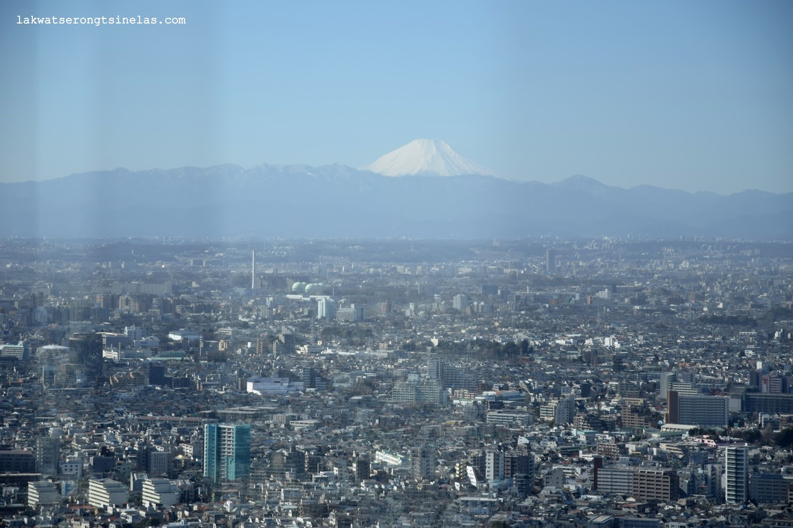 MT. FUJI VANTAGE POINTS THRU THE TOKYO METRO SUBWAY