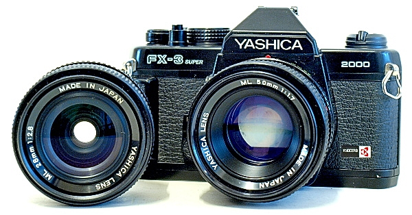 Yashica FX-3 Super 2000 35mm SLR