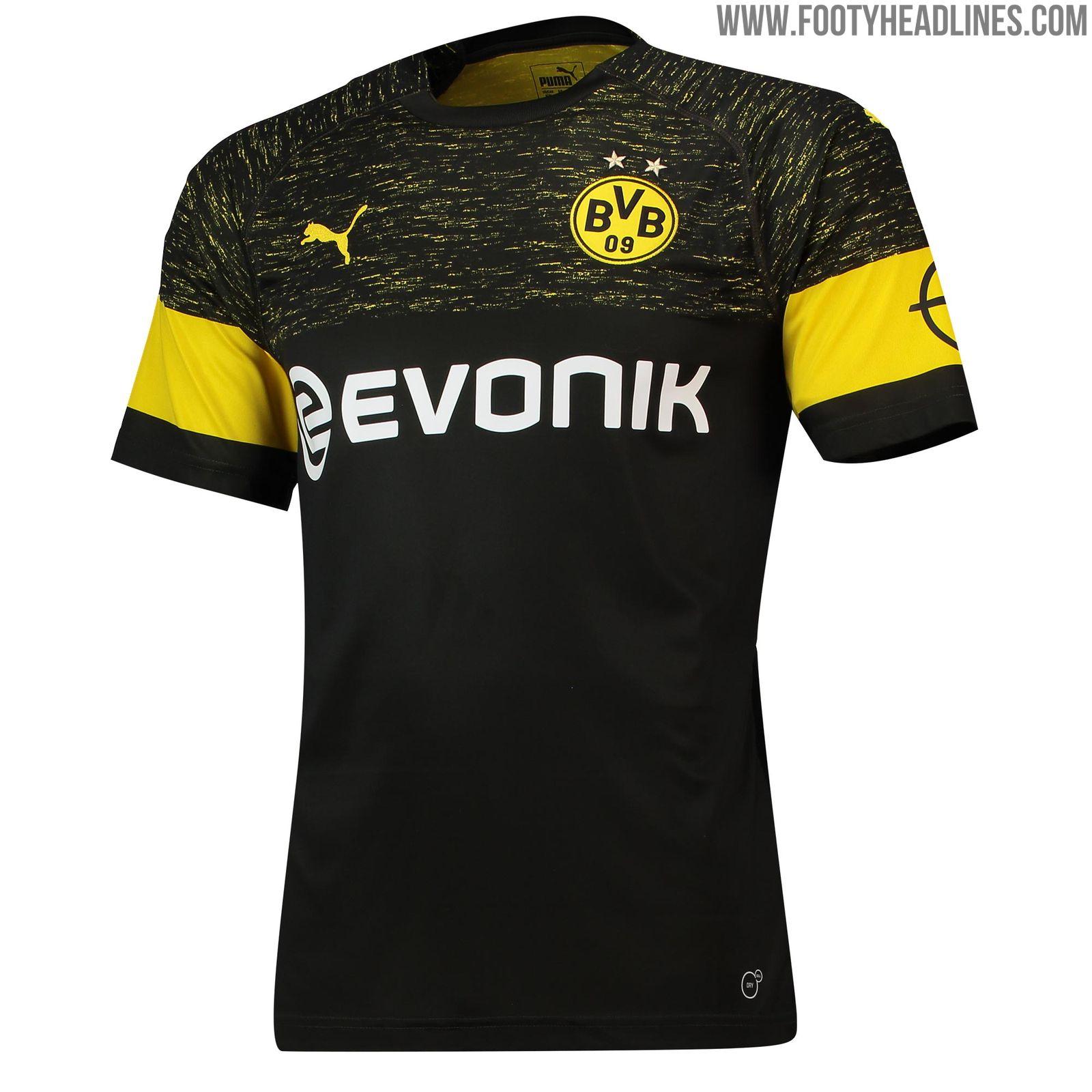 Borussia Dortmund 18-19 Away Kit Released